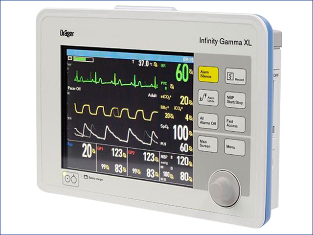 Drager Gamma XL betegőrző monitor - Gyermekek belföldön és külföldön történő gyógykezelésének támogatása, májtranszplantáció, gerincműtét, gyermek szívműtétek, különleges műtétek
