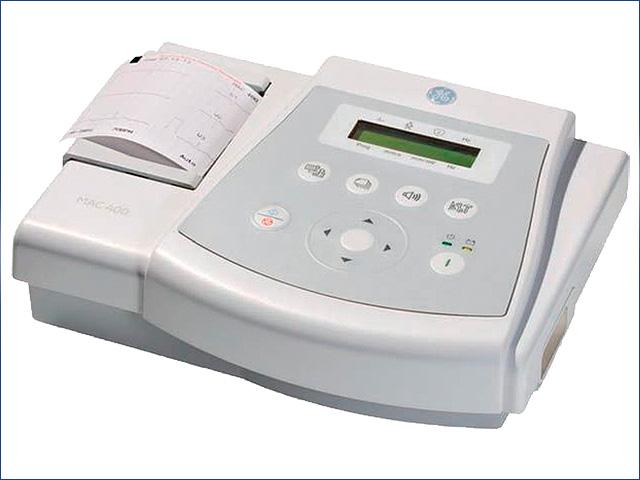 GE MAC 400 EKG