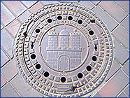 Hamburg város címere