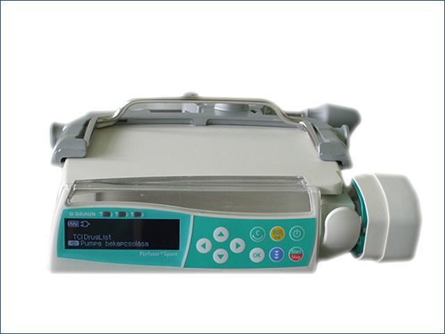 Perfusor Space TCI kisméretű automatikus fecskendős pumpa