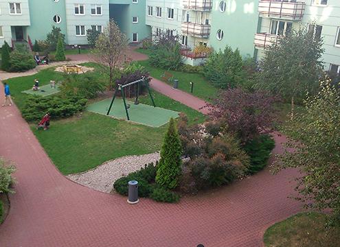 Varsó apartman ház