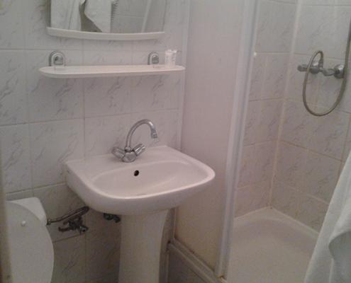 Varsó apartman ház - fürdőszoba