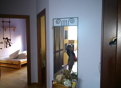 Varsó apartman ház - szoba