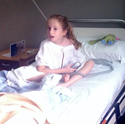 Kloé kórházban