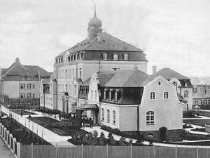 Régi városi kórház 1910-ben