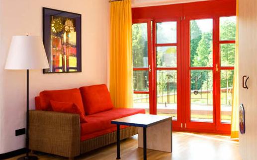 Ronald McDonald House Hundertwasser Ház - szoba