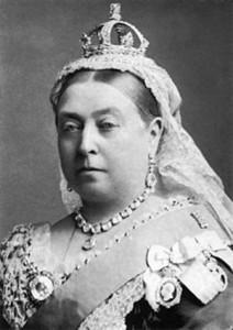 Viktória királynő