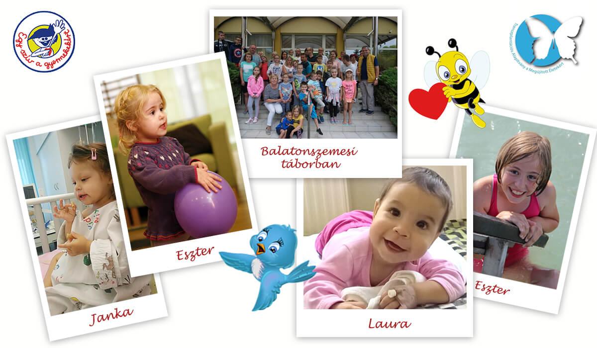 Egy szív a gyermekekért Alapítvány és a Transzplantációs Alapítvány a Megújított Életekért