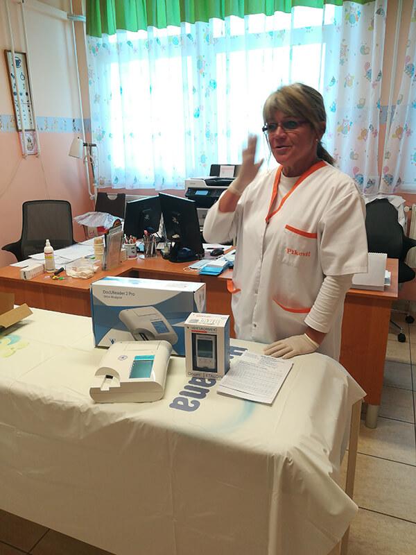 Az átvétel pillanata - Dr. Pószné Dr. Kecseti Szilvia, Nyíregyháza