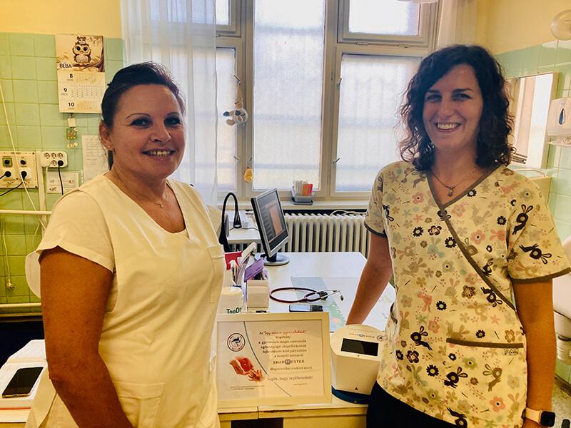 Boldog nyerteseink - Dr. Schuler Zsófia és Lakner Éva, Budapest Vörösvári út 88.
