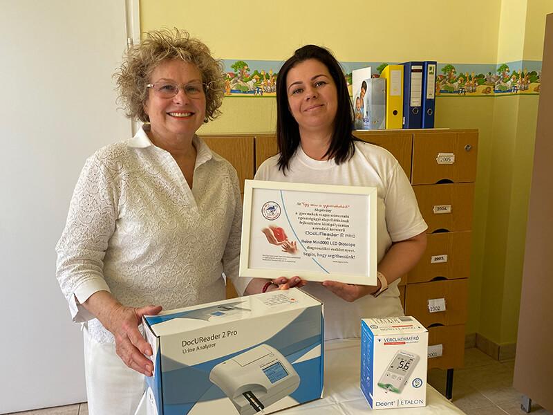 Boldog nyerteseink - Dr. Udvari Mária és Hegedűsné Kék Edina, Nyíregyháza