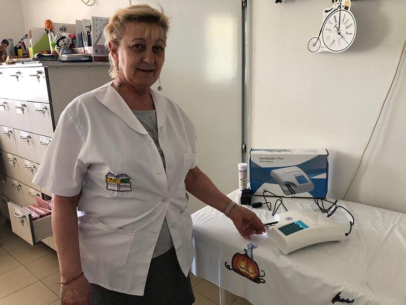Jöhet az első beteg - Dr. Janóczki Katalin, Tárnok