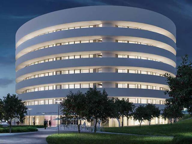 Kinderspital új épület