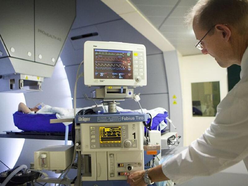 Rinecker Proton Therapy Center - Vezérlőpult