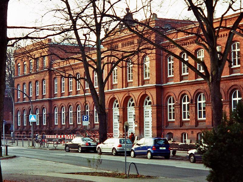 UKE Hamburg - régi épület