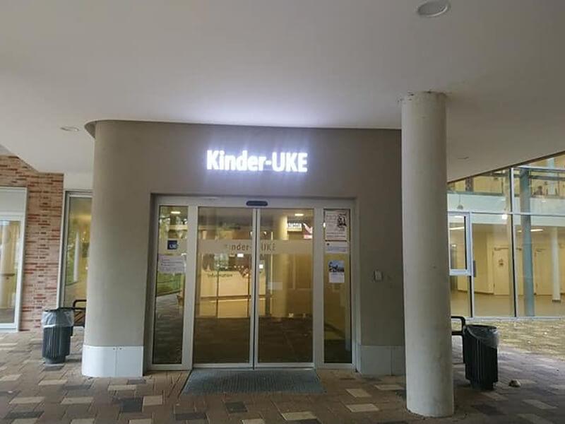 UKE Hamburg - főbejárat