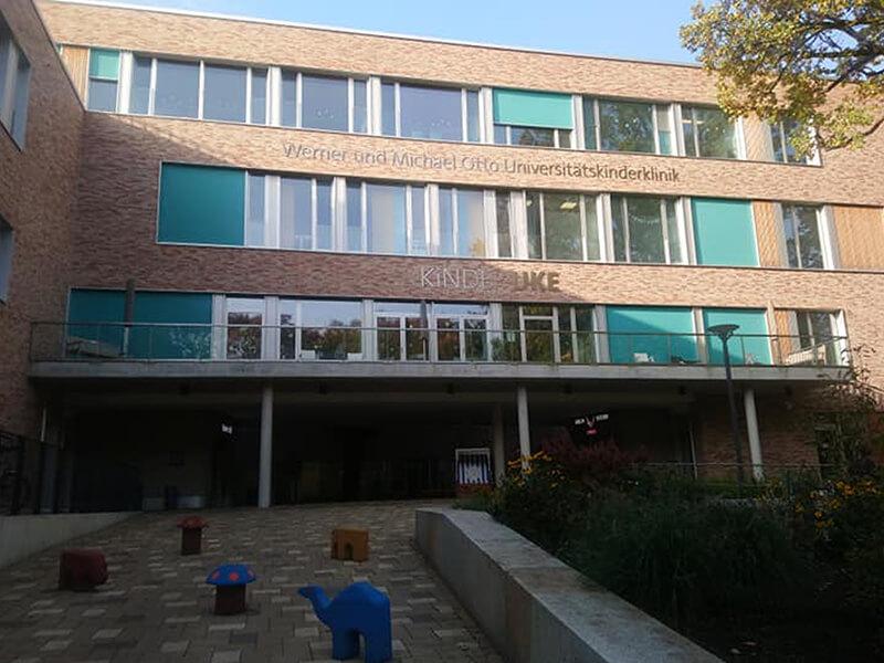 UKE Hamburg - gyerekklinika