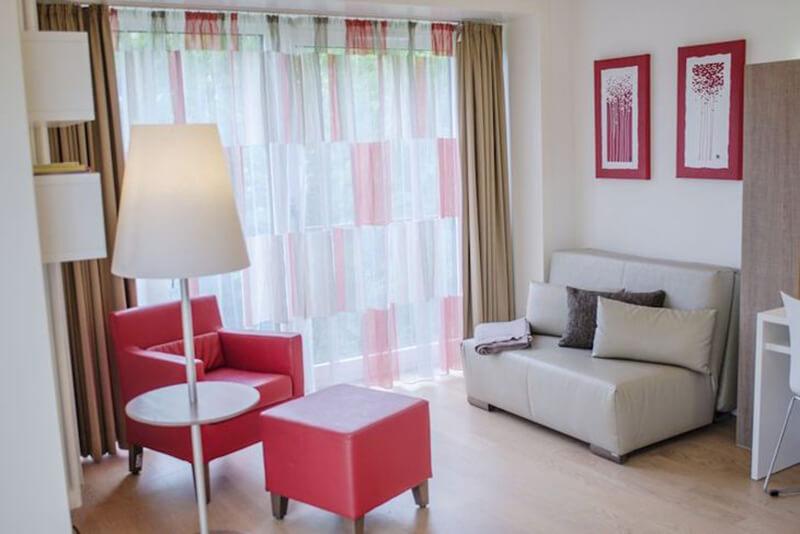 Ronald McDonald House München - szoba